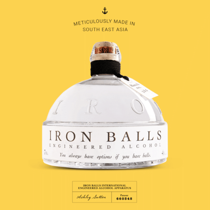 Iron Balls – Thailand's Craft Gin