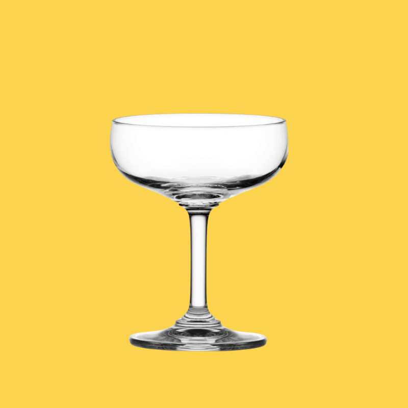 CLASSIC SAUCER CHAMPAGNE