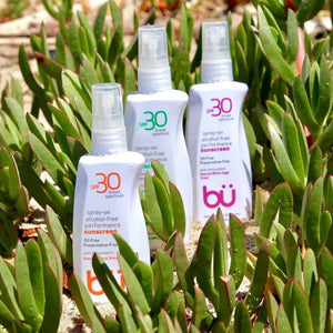 BU SPF30 Alcohol-Free White Sage Scented Sunscreen (98ml)