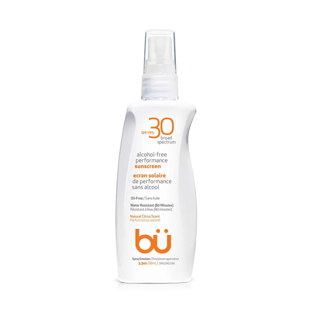 BU SPF30 Alcohol-Free Natural Citrus Scent Sunscreen (98ml)