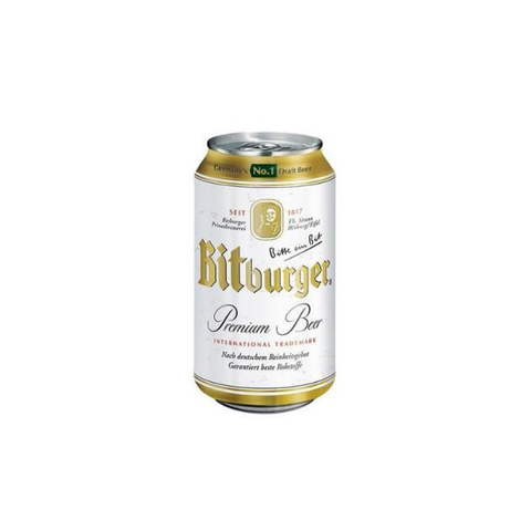 BITBURGER PREMIUM PILS 24x0,33L lattina (cartone)