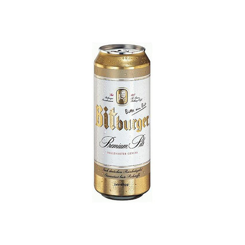 BITBURGER PREMIUM PILS 24x0,5L lattina (cartone)