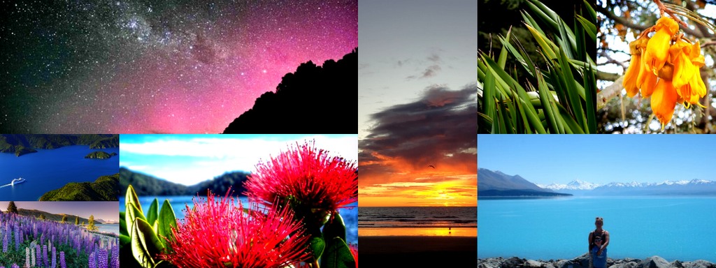 The Colours of New Zealand