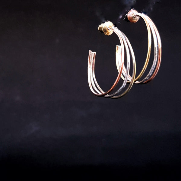 Journey Trio Hoop Earrings