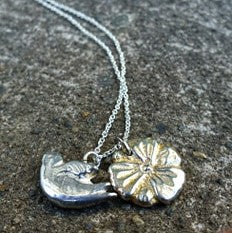 Silver Necklace for Charms