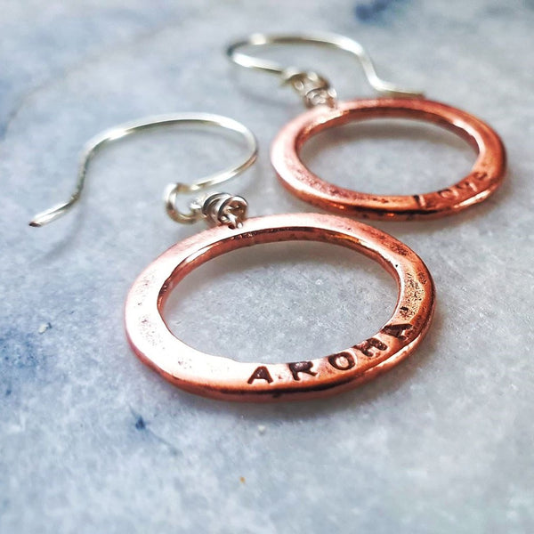 Aroha Circle Earrings