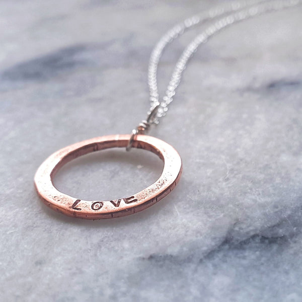 Aroha Circle Necklace