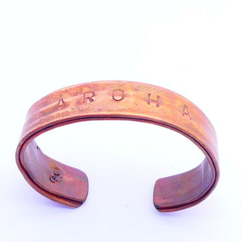 Copper Cuff Bracelet Medium