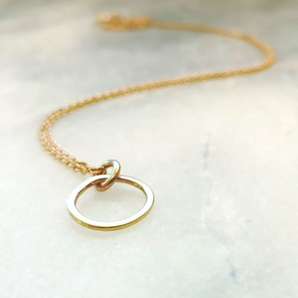 Mini Pebble Single Set Gold