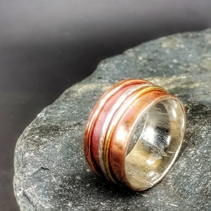 Journey Meditation Ring Copper