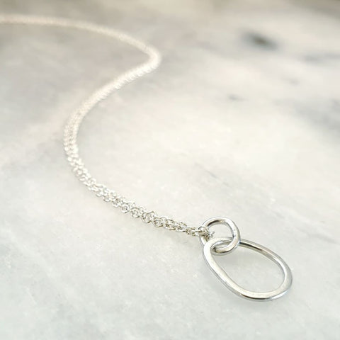 Mini Pebble Single Necklace