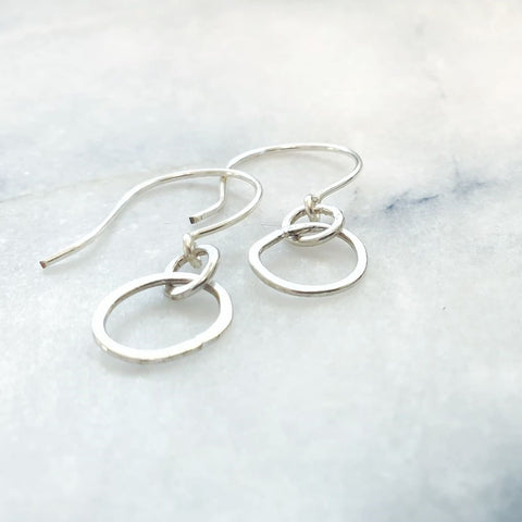 Mini Pebble Single Earrings