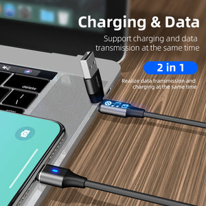 The Lynx  - 6 in 1 - Type A/Type C 1m Charging/Data cable