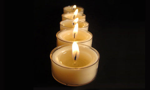 Maxi tea light candles