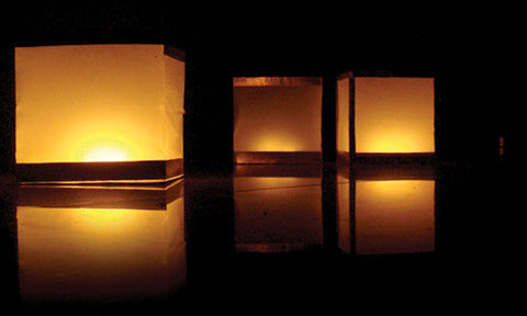 Floating water candle Lanterns