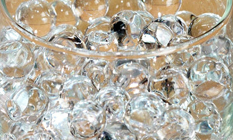 water pearl beads for flower arrangements