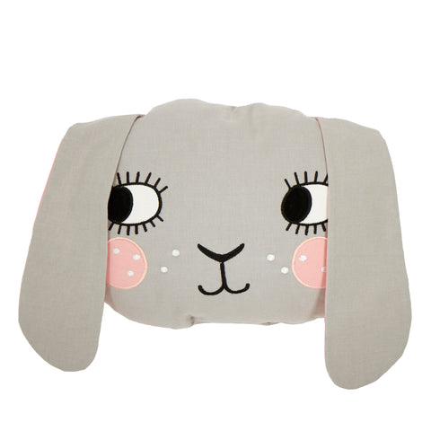 Rabbit Pillow (Gray)