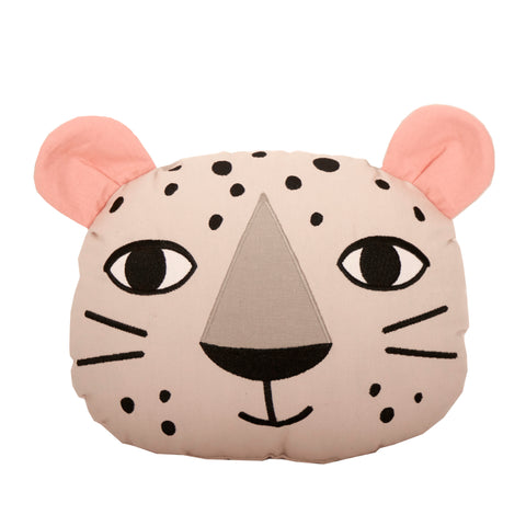 Leopard pillow (Off white)