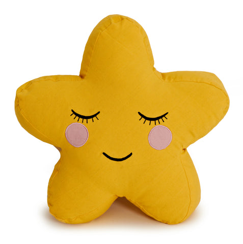 Star Pillow (Yellow)
