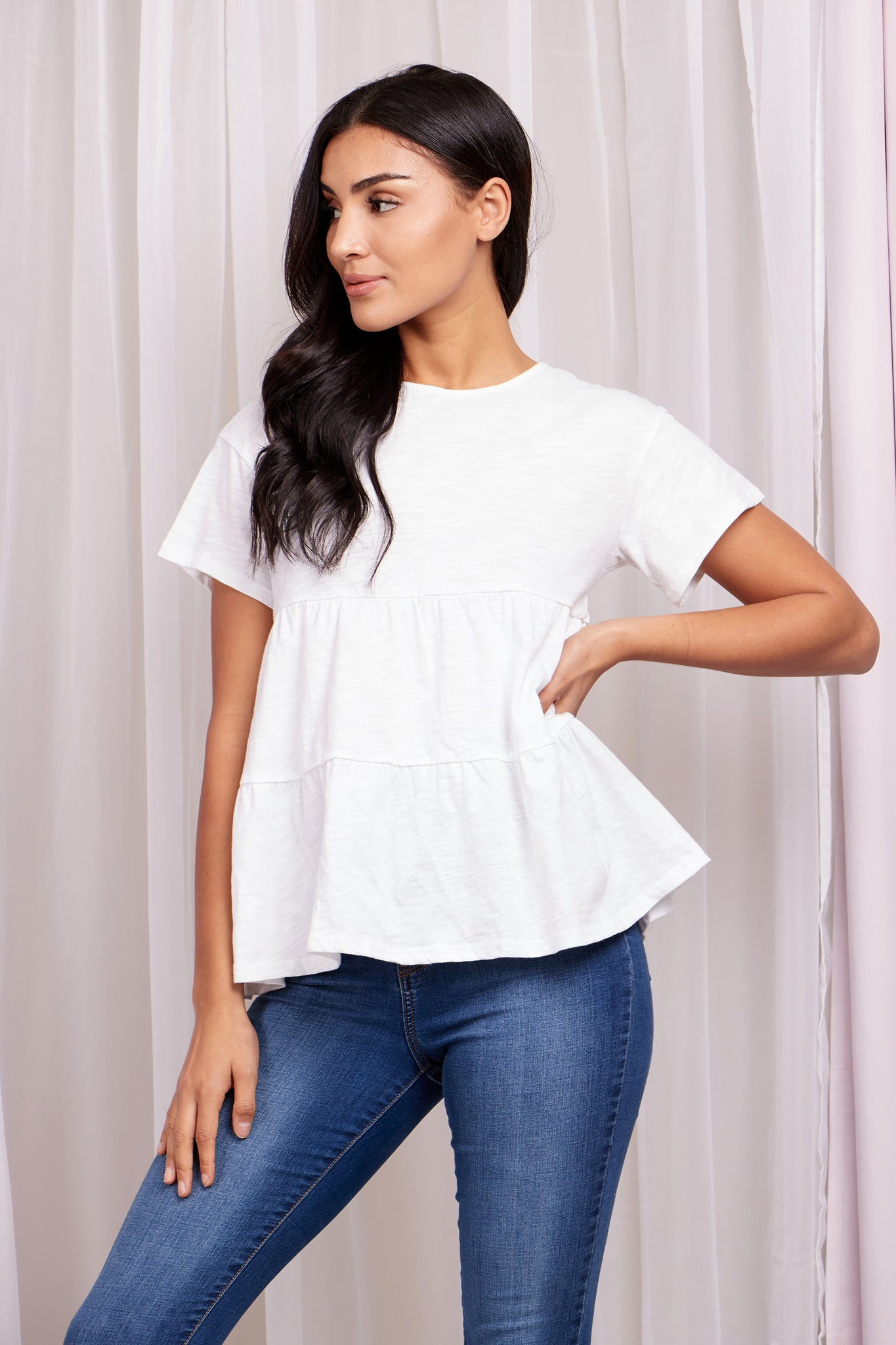Two Tier Cotton Tshirt