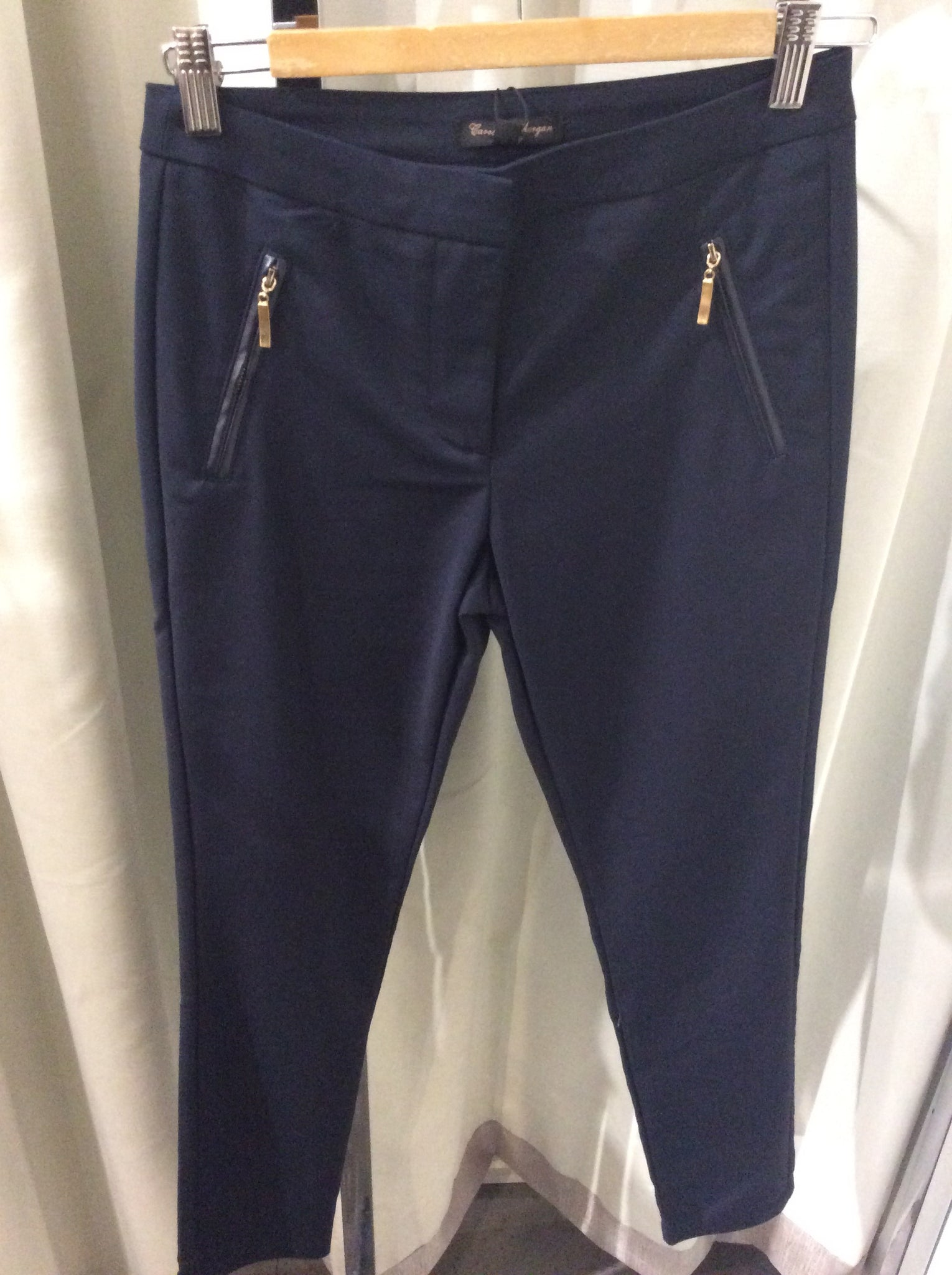 7/8 Trouser With Pocket Zip Detail