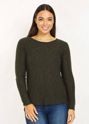 Long Sleeves Knit Pullover