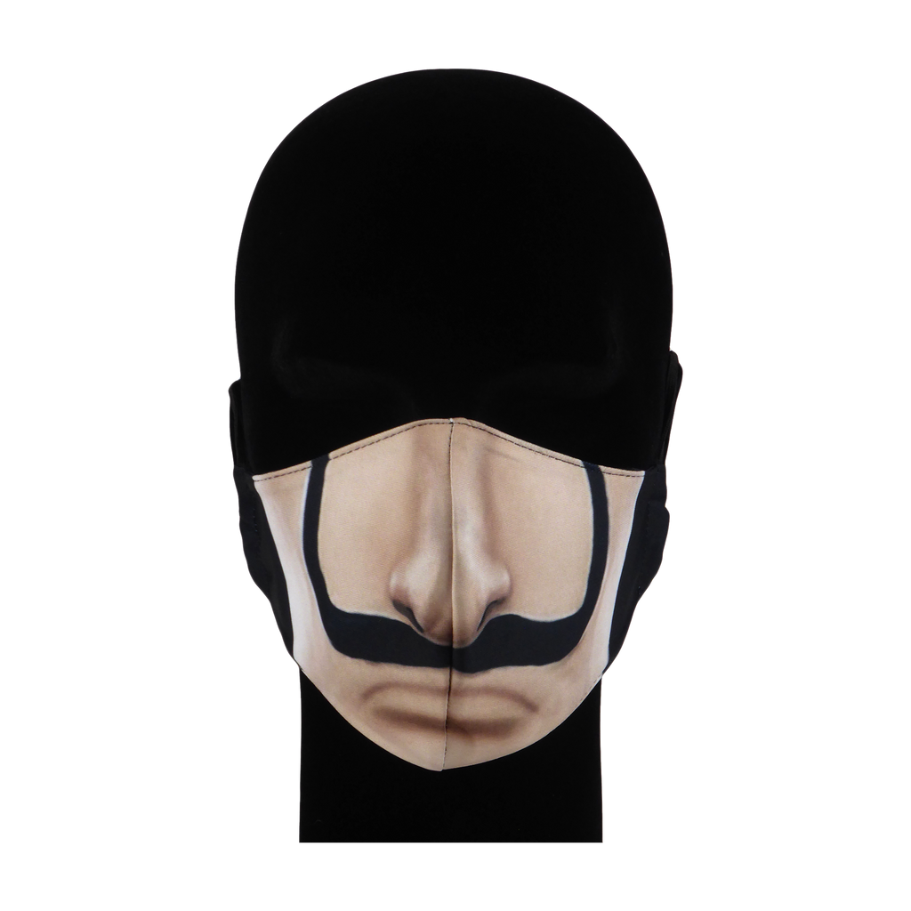 King Cobra Store 100% polyester mouth and face mask protection against dust pollen pollution or airborne covid 19 corona viruses elastic straps comfortable breathing and wearing reusable washable inspired by Casa De Papel