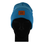 Load image into Gallery viewer, Cuffed Beanie Arrow Sapphire Blue