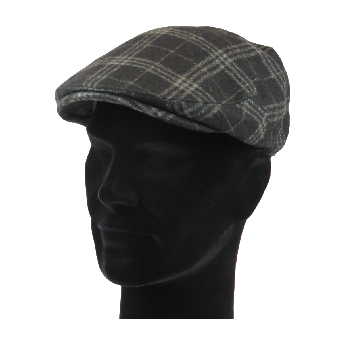 King Cobra Store flat cap color black grey checked tartan platte pet modern shape hat 1900 1910 timeless Brixton Oslo cap Barts Stetson Dickies Ted Baker Profuomo Texas flat cap Tucson Hooligan Peaky Blinders Gatsby all seasons autumn winter spring basic streetwear rockabilly tattoo vintage casual wool tweed plain tartan striped check checked pattern herringbone visgraat motief patroon size 55 56 57 58 59 60