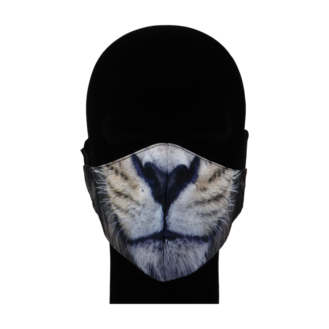 King Cobra Store 100% polyester mouth and face mask protection against dust pollen pollution or airborne covid 19 corona viruses elastic straps comfortable breathing and wearing reusable washable inspired by animal half face lion mask mouth and nose
