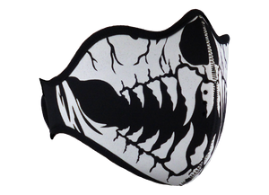 King Cobra Store neoprene face or mouth mask protection against dust pollen pollution or covid 19 corona viruses adjustable velcro straps comfortable breathing and wearing reusable washable protective biker half face mask