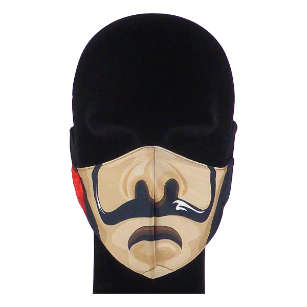 King Cobra Store 100% polyester mouth and face mask protection against dust pollen pollution or airborne covid 19 corona viruses elastic straps comfortable breathing and wearing reusable washable inspired by Casa De Paper