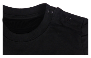 King Cobra Store cotton short sleeve kids T-shirt in black with a unique King Cobra Store design inspired by daddy's little helper kid mechanic