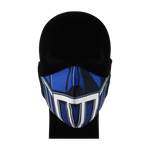 Load image into Gallery viewer, King Cobra Store 100% polyester mouth and face mask protection against dust pollen pollution or airborne covid 19 corona viruses elastic straps comfortable breathing and wearing reusable washable inspired by Transformers robot Transformer science fiction action film series Travis Knight Paramount Pictures Dream Works Pictures