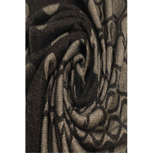DAGNY Circle Scarf Scarves Black