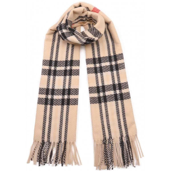 DAGNY Frill Scarf Scarves Off White
