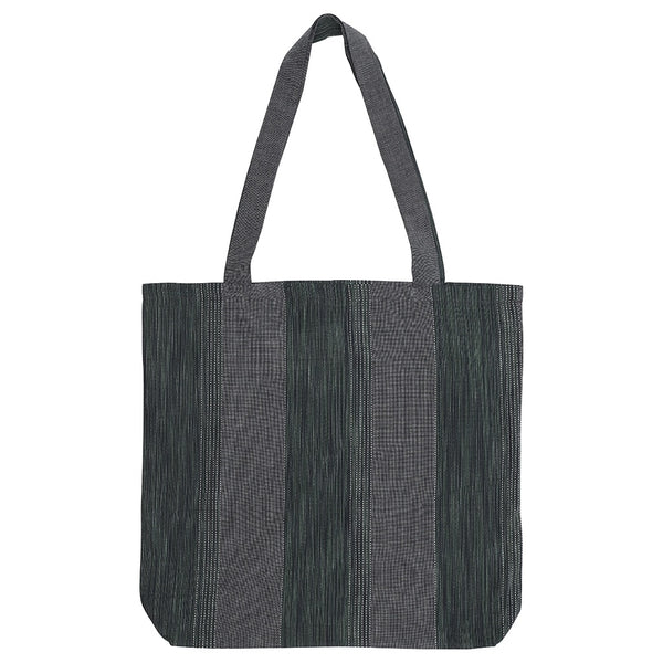 DAGNY Shopper #19114 Bag Denim blue/Khaki stripe