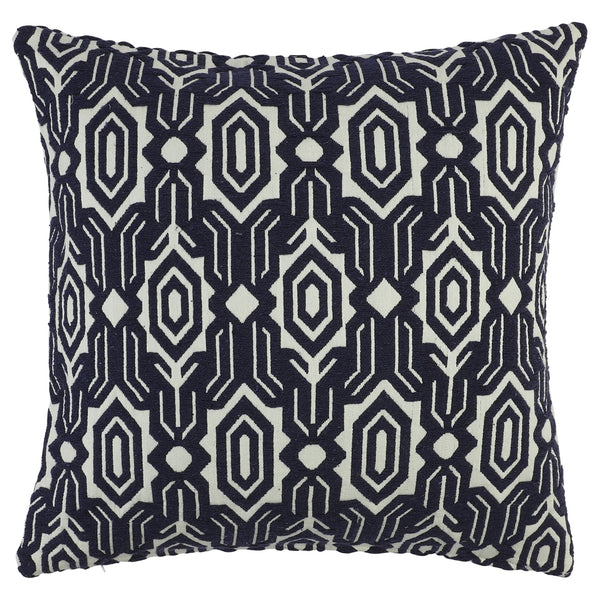 DAGNY #125-518/65 Cushion cover Navy/Offwhite