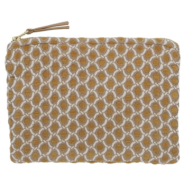 DAGNY Pouch #411 Pouch Mustard/Offwhite