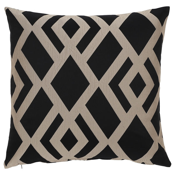 DAGNY Cushion cover #ST7008 Cushion cover Black/Sand