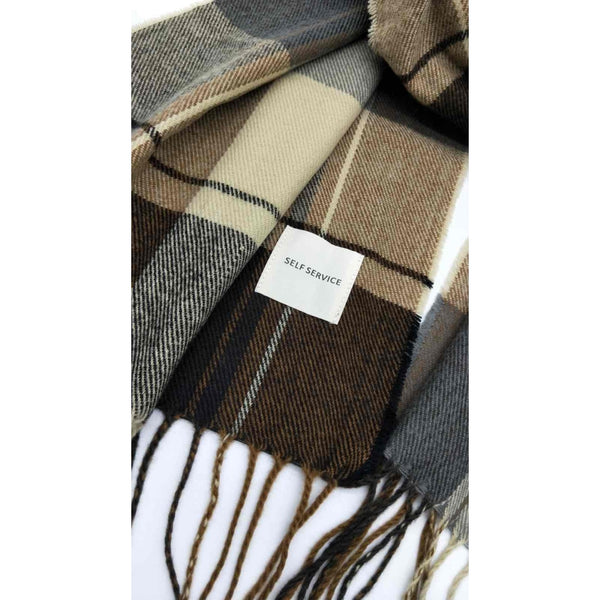 DAGNY Self Service Scarf Scarves Multicolor