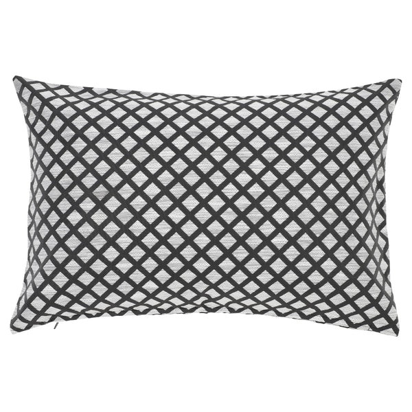 DAGNY Cushion cover #460 Cushion cover Grey/White
