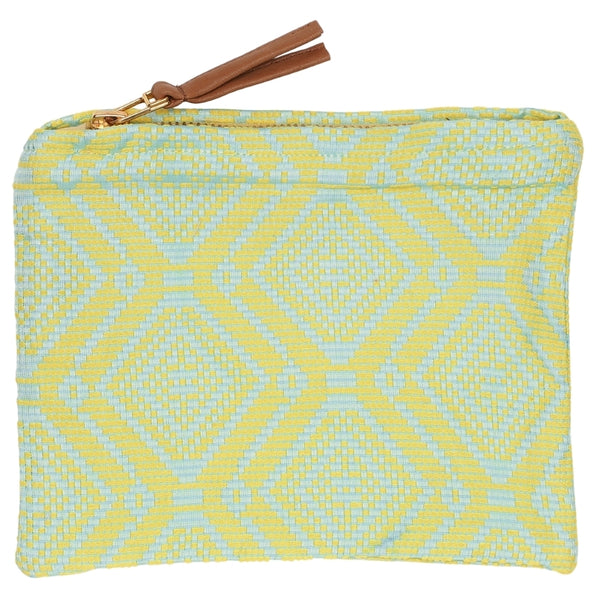 DAGNY Pouch #473 Pouch Mint/Yellow