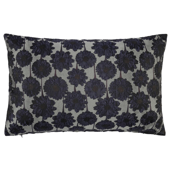 DAGNY #128-546/40 Cushion cover Grey/navy/black