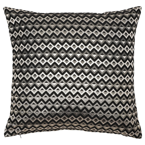 DAGNY Cushion cover #ST7006 Cushion cover Black w/gold lurex