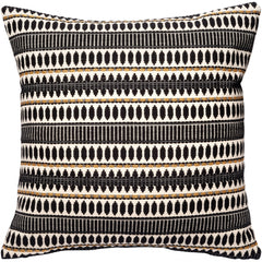DAGNY #146-433/65 Cushion cover Black w/gold lurex