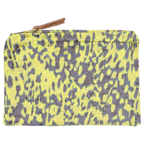 DAGNY #178-610/27 Pouch Yellow/purple w/lurex