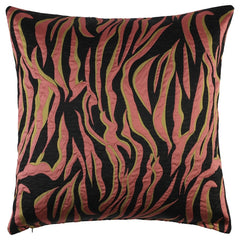 DAGNY #114-552/50 Cushion cover Black/orange/ocher