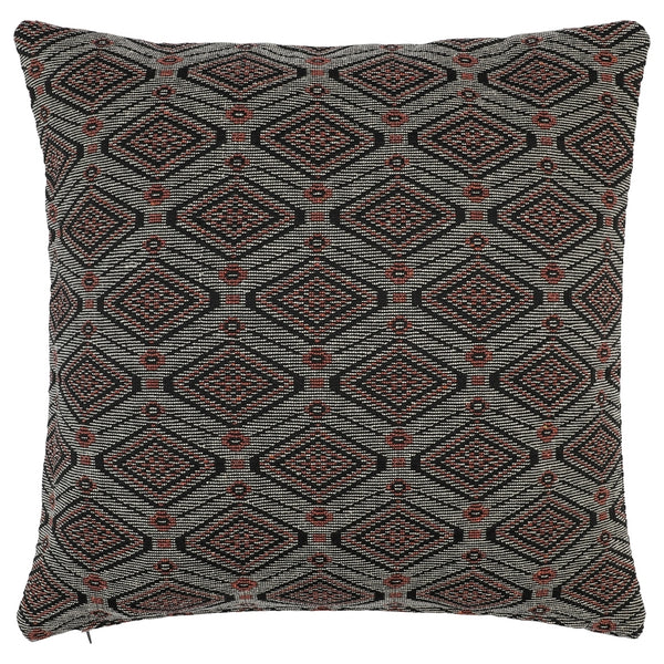 DAGNY #113-512/50 Cushion cover Black/sand/orange