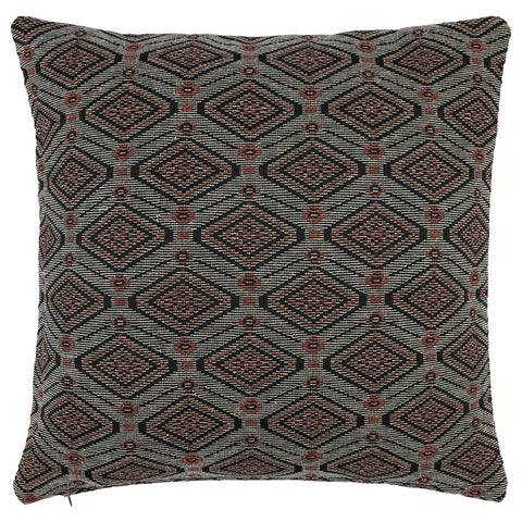 DAGNY #113-512/65 Cushion cover Black/sand/orange